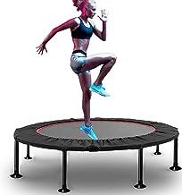 Fitness-trampoline, heuptrommelveer, opvouwbaar en gemakkelijk mee te nemen, ingebouwde metalen plaat, armleuning met 5 sn...