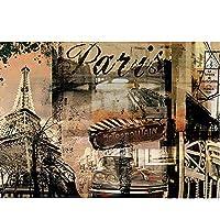 artaslf フルスクエアドリル5D DIYダイヤモンド絵画レトロな建物刺繡クロスステッチ5D家の装飾ギフト-40x50cmフレームなし