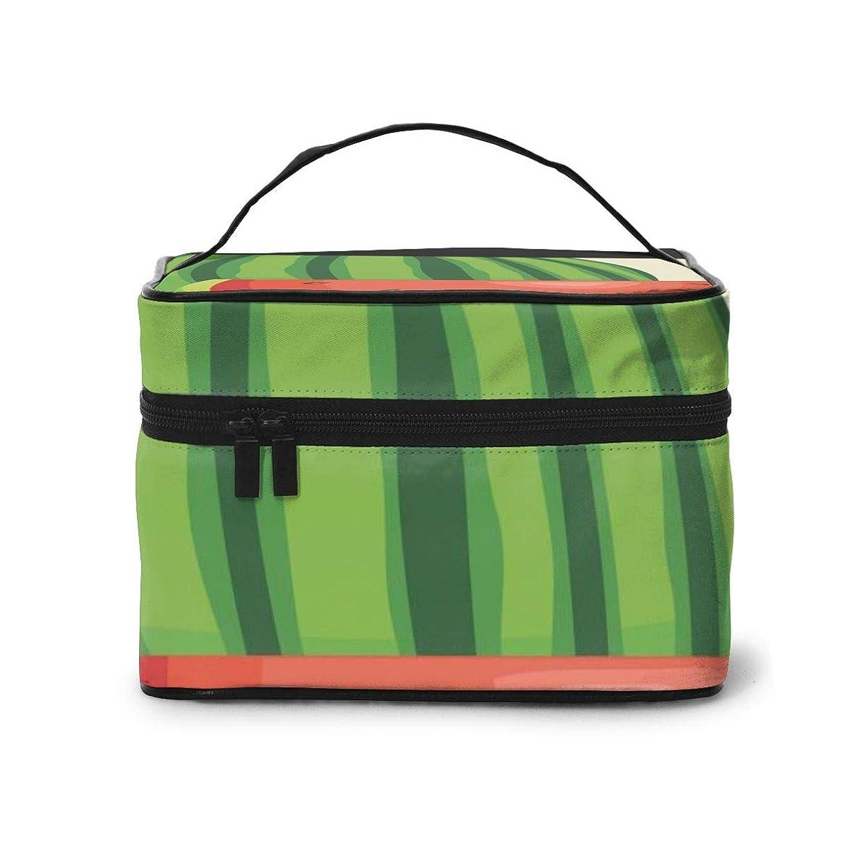 ホームレス成功ピーク化粧品バッグ 収納バッグ スイカ ウォッシュバッグ 化粧品収納ケース 収納ボックス 化粧品入れ パッケージ 化粧箱 大容量 軽量 ポータブル 旅行する 可愛い