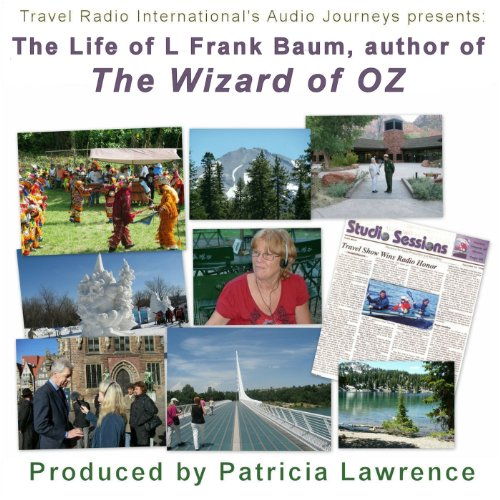 Wizard of Oz Author L. Frank Baum cover art