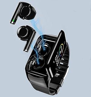 PADY-Wearable Technology M7 2 in 1 Smart Bracelet Wireless Bluetooth Headset Combo Running Music Wristband Earphone Heart ...
