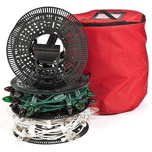 TreeKeeper Santa's Bags Install 'N Store Light Storage Reels