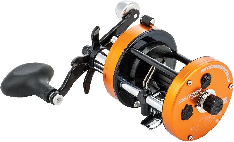 Abu Garcia C3 Catfish Special Round Reel 7000 4.1 1 Gear Ratio 3 Bearings 20 lb Max Drag Right Hand