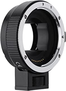 Andoer オートフォーカス AF EF-NEXII アダプターリング for Canon EF EF-S レンズ to use for Sony NEX E マウント3/3N/5N/5R/7/A7/A7R/A7S/A5000/A5100/A6000 フルフレームに使用