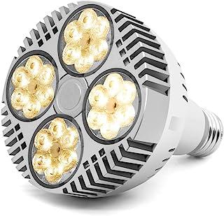 35W LED Grow Light Bulb, Grow Lights for Indoor Plants, CANAGROW E26 Full Spectrum Plant Grow Light Bulb, Growing Light La...