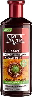 Naturaleza y Vida Champu Color Caoba Champú - 300 ml