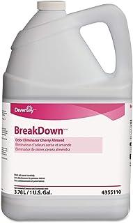 Diversey 94355110 Odor Eliminator, Cherry Almond Scent, Liquid, 1 gal. Bottle, 4/Carton