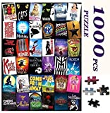 Custom Broadway Musical Theater Large Jigsaw Puzzles for Adults Kids 1000 Pieces Intellectual Puzzles Personalized Gift DIY Toys Puzzles for Relaxation,Meditation,Home Decoration 27.6x19.7 Inches