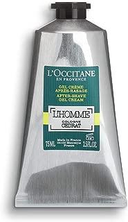 L'Occitane L'homme Cologne Cedrat Gel-Cream After-shave, 2.5 Fl Oz