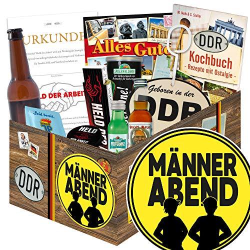 Männerabend / Männer Geschenkidee DDR / Männerabend Set