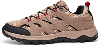 Men's Low-Top Waterproof Hiking Shoes, Lightweight Non Slip Wear Resistant Breathable Sports Shoes, Suitable for Outdoor H...