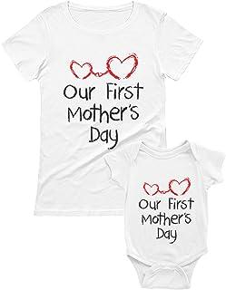 Twin Pack /100/% org/ánico algod/ón Sanetta /&apos Unisex Cuerpo I Love Mum y I Love Daddy/