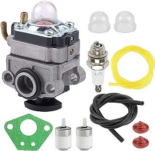 Allong 753-06442 753-08045 Carburetor +Primer Bulb +Fuel Filter Line for Troy-Bilt Murray Craftsman TB2BP TB2BVEC RM2BP YM2BP 41AR2BEG966