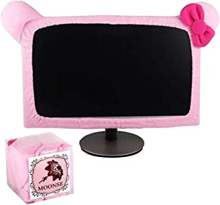"Monfurise 15""-22"" Lovely Cute Waterproof Dustproof Computer Laptop TV LCD Screen Monitor Decoration Dust Cover Protector, ..."