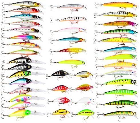 Minnow Popper Crankbaits Wobblers Spinner Isca Bait Lure Sea Kit Fishing L7O0