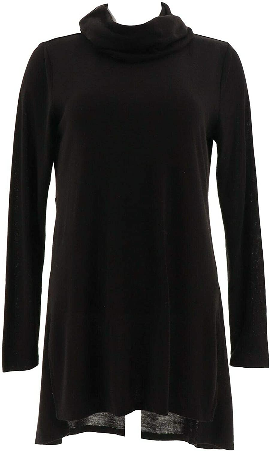 Lisa Rinna Collection Cowl Neck Tunic Seam A297909