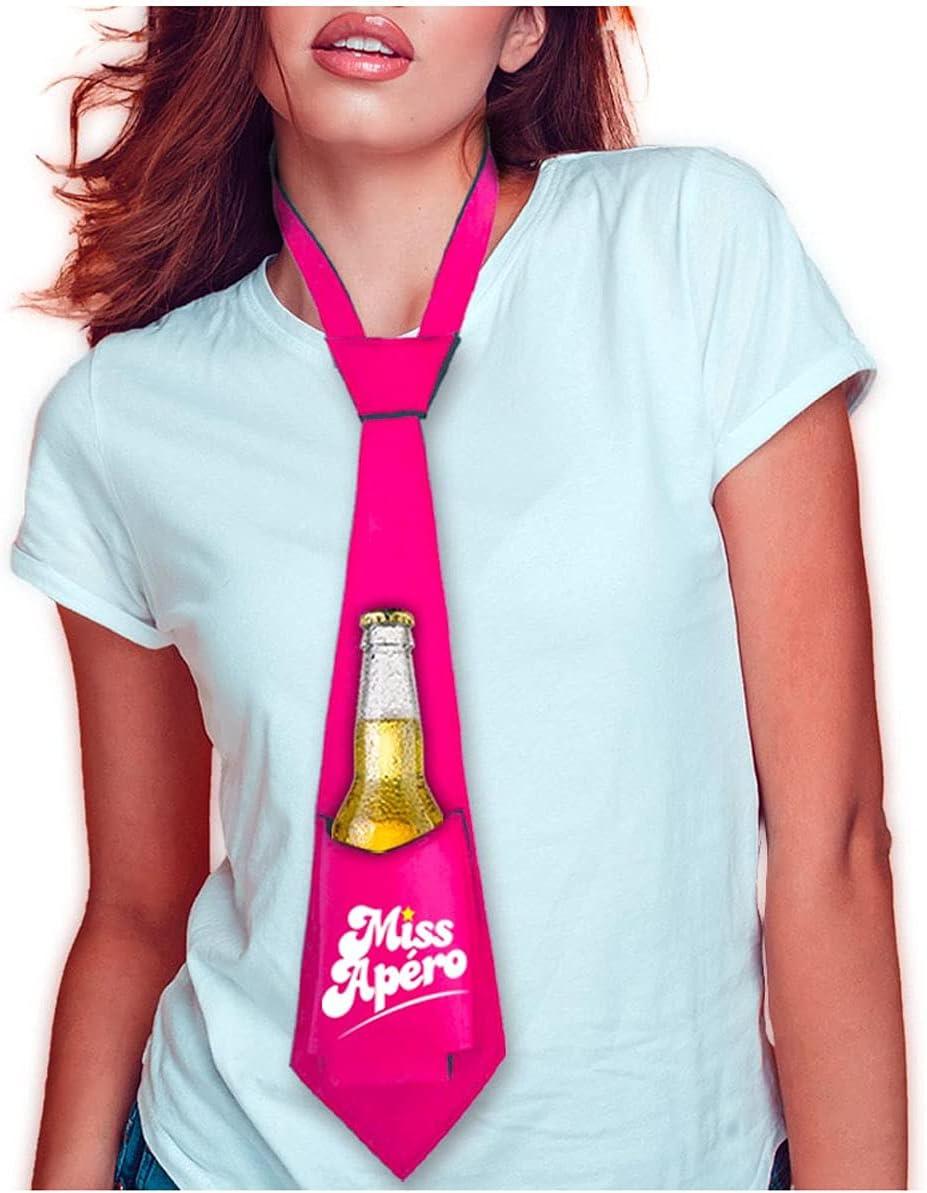 Necktie Anti-Thirst 'Miss Apero'pink.