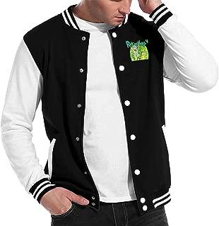 Rick N Morty Men Varsity Jacket Sweater Coat