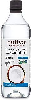 Nutiva Organic, Unrefined, Liquid Coconut Oil, 32 Ounces.