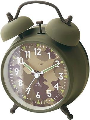 インターフォルム(INTERFORM INC.) 置き時計 Dawlish -Bell- - ダウリッシュ -ベル- - ライトブラウン CL-2145LB