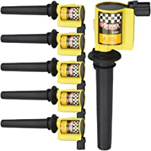 High Performance Set of 6 Ignition Coil for Various Ford Escape Taurus Five Hundred Mazda Tribute Mercury V6 3.0L fits C1458 DG500 FD502 DG513