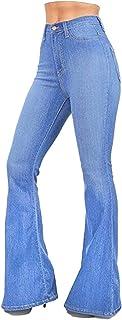 Sevozimda Pantalones Vaqueros Ajustados De Cintura Alta para Mujer