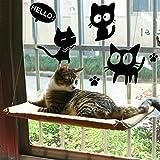 COUTUDI Matelas Suspendu à la Fenêtre à pour Chat, Bain-de-soleil, lit pour Chat...