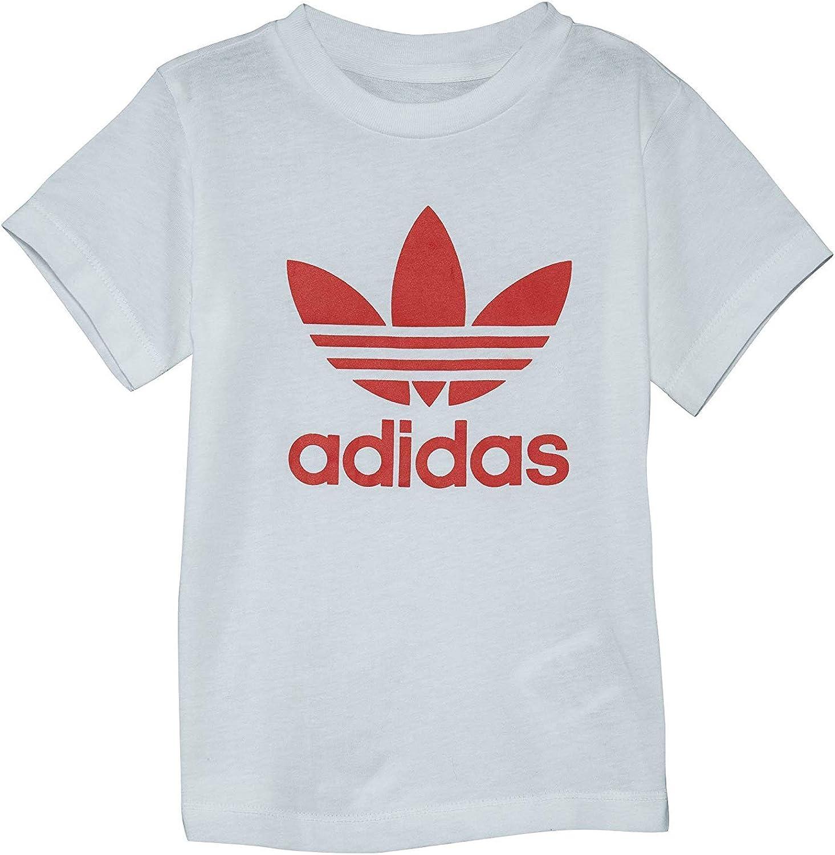 Adidas Infants Originals 3Stripes Trefoil Tee