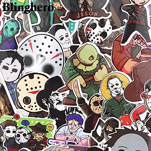 Black Friday Horror Stickers voor graffiti, auto, skateboard, bagage, laptop, sticker, 35 stuks/set