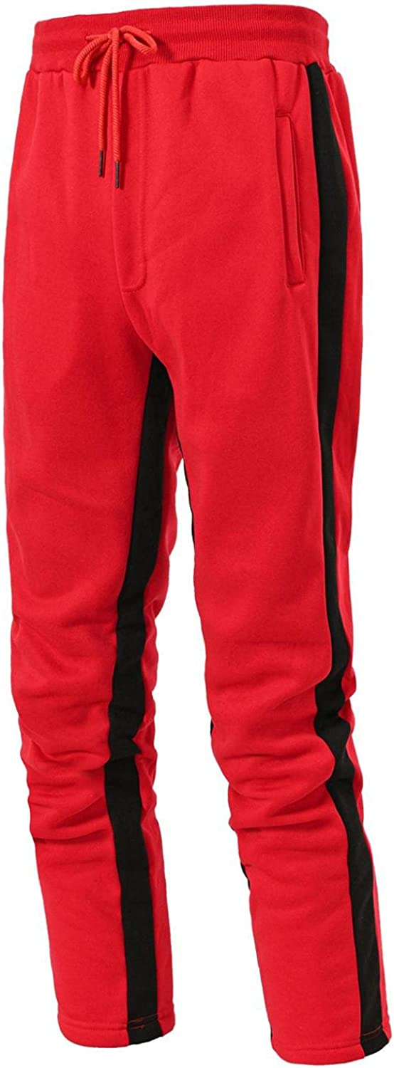 Beshion Men's Athletic Sweatpants Slim Fit Sport Trousers Joggger Running Exercise Gym Workout Fall & Winter