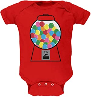 Old Glory Candy Gumball Machine Costume Soft Baby One Piece