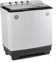 Midea MLTT16M2NuBW Lavadora Semiautomática, color Blanco, 2 Tinas, 16 kg Lavado/10 kg Centrifugado