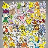 Pokémon Pokemon Graffiti impermeable Skateboard maleta de viaje teléfono portátil equipaje pegatinas lindo niños...
