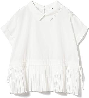 (レイビームス)Ray BEAMS/カジュアルシャツ/プリーツ キリカエ プルオーバーシャツ レディース