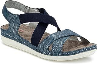 161164.Z Mavi Kadın Sandalet