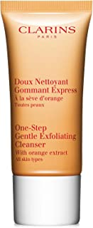Clarins One-Step Gentle Exfoliating Cleanser with Orange Extract 1.7 Oz 50ml