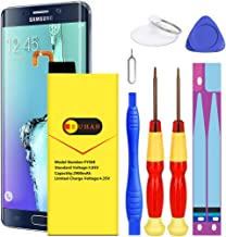 Galaxy S6 Edge Battery, Euhan 2900mAh Li-Polymer Internal Replacement Battery EB-BG925ABE for Samsung Galaxy S6 Edge SM-G925 G925V G925T G925A G925P G925F with Repair Replacement Kit Tools.