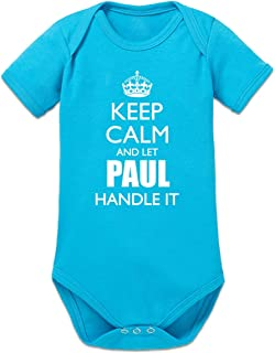 Shirtcity Keep Calm and Let Paul Handle it Baby Strampler by