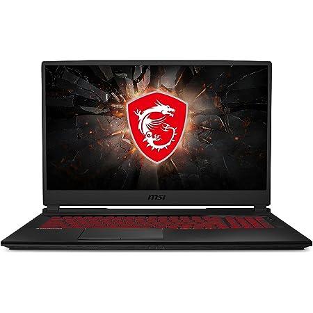 "MSI GL75 Gaming Laptop: 17.3"" 144Hz FHD 1080p Display, Intel Core i7-10750H, NVIDIA GeForce GTX 1660 Ti, 16GB, 256GB SSD + 1TB HDD, Win10, Black (10SDR-636)"