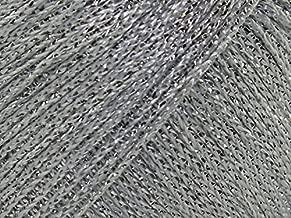 Twilleys of Stamford Goldfingering Knitting & Crochet Yarn 3 Ply 0005 Silver - per 25 gram ball
