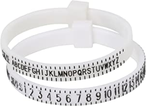 Ring Sizer - Adjustable Finger - UK and US Sizes Measure Gauge - Custom and New Rings Jewellers - by TRIXES