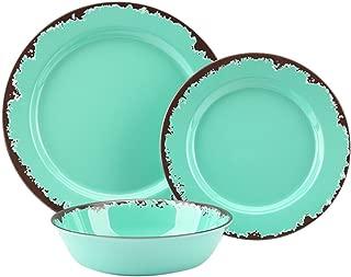 metal dinnerware sets