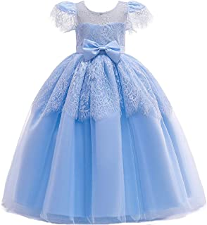 (フォーペンド)Forpendドレス 子供 女の子 レースフォーマル 発表会 結婚式 子供服 120 130 140 150 160 フラワーガール ワンピース リボンLQ51