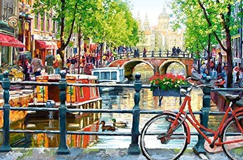 Wanddekoration DIY Amsterdam