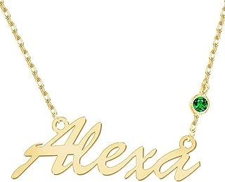 precious name necklace