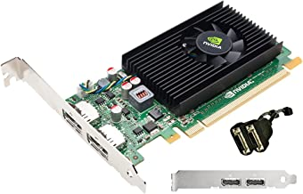 PNY VCNVS310DVI-PB Quadro NVS 310 Graphic Card - 512 MB DDR3 SDRAM - PCI Express 2.0 x16 - Full-length/Low-profile - 2560 x 1600 - Fan Cooler - DirectX 11.0, OpenCL, OpenGL 4.1, DirectCompute - DisplayPort - 2 x DisplayPort Outputs - 2 x Monitors Supported