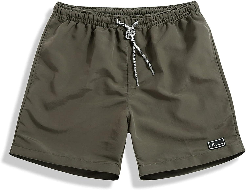 Men's Quick Dry Swim Trunks Swimsuit Sports Shorts Beach Shorts for Men Quick Dry Swimwear Bathing Suits