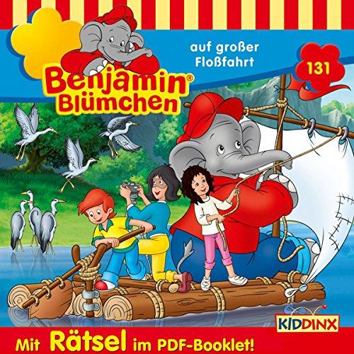Benjamin Blümchen auf großer Floßfahrt Titelbild