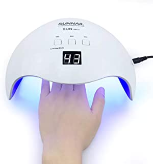 Nail Dryer Lamp 42W Gel Nail Polish Dryer Machine Curing Lamp Smart Auto-sensing with 3 Timer Mode UV Nail Lamp