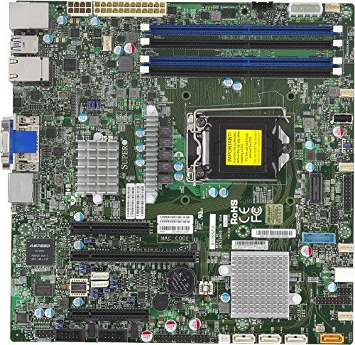 Supermicro X11SSZ-F server-/werkstation moederbord LGA 1151 (bus H4) Micro ATX Intel® C236 - server-/werkstation moederboards (Intel, LGA 1151 (bus H4), E3-1200, 8 GT/s, 80 W, 14 nm)